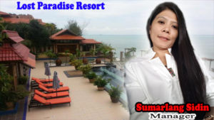 Sumarlang Sidin, manager Lost Paradise Resort.